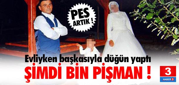 Evliyken başkasıyla düğün yapınca...