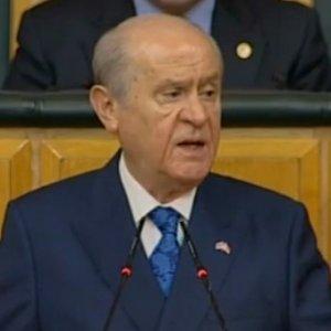 Bahçeli, Başkanlık referandumnda da oyunun rengini açıkladı