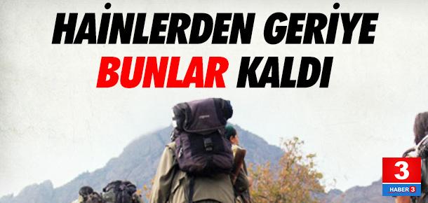 PKK'lı hainlerin silahları şok etti