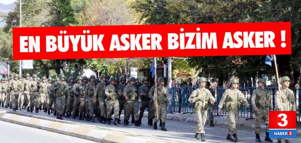 Erzincan sokakları bu sloganla inledi !