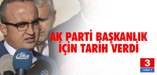 İşte AK Parti'nin Başkanlığı Meclis'e getireceği tarih