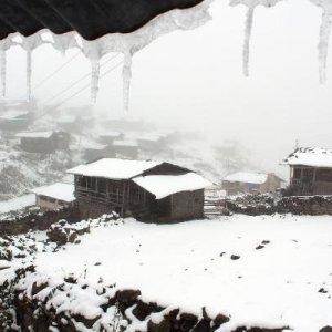 Ardahan'da kar manzaraları