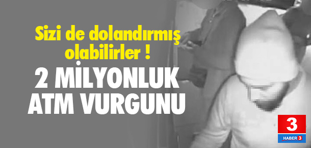 İstanbul'da 2 milyon TL'lik vurgun