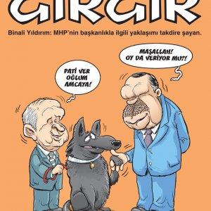 Gırgır'ın MHP kapağı çok kızdıracak