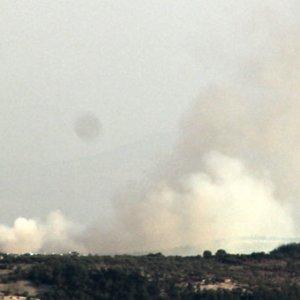 Esad'ın savaş uçakları okulu vurdu