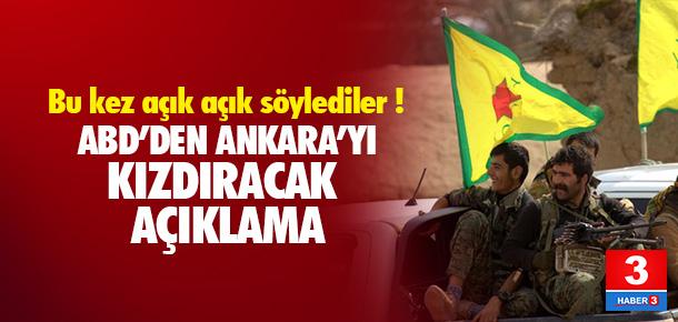 ABD'den Ankara'yı kızdıracak açıklama