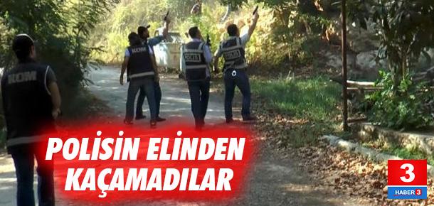 Vatandaşı zehirleyenler polisin elinden kaçamadı