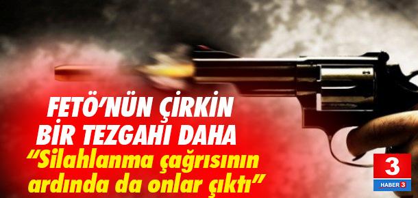 'Ak silahlanma' çağrısında FETÖ iddiası