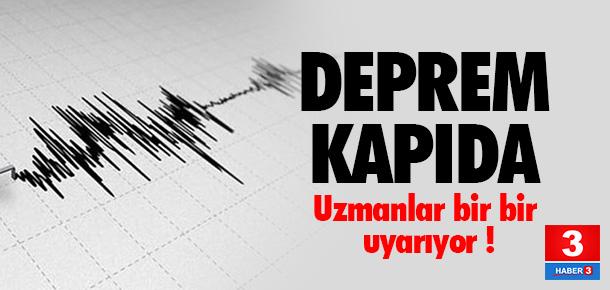 ''Marmara'da her an deprem olabilir''