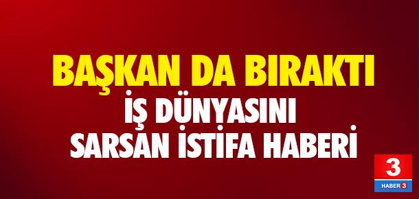 Ankara Ticaret Odası Başkanı istifa etti