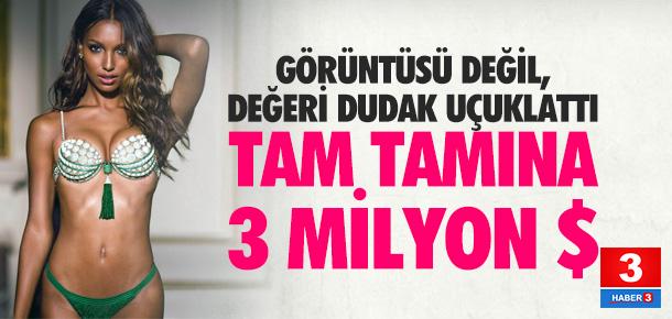 Victoria's Secret'in 3 milyon dolarlık sutyeni Jasmine Tookes giyecek