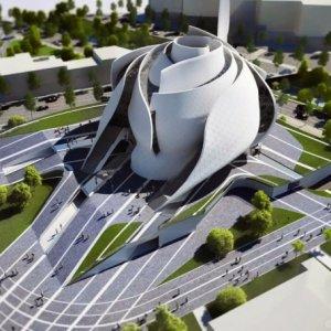 Tam bir tasarım harikası: Geleceğin camisinin inşaatı başlıyor