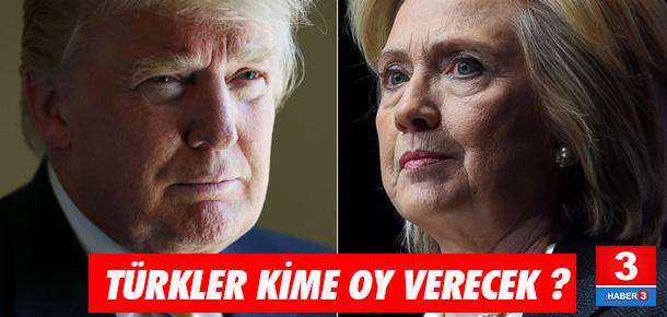 Amerika'daki Türkler hangisine oy verecek ?