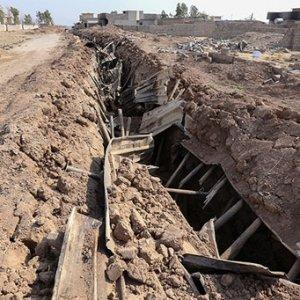 Musul'da 140 kilometrelik tünel bulundu