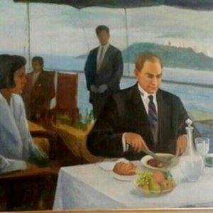 Meclis'ten Atatürk tablosu açıklaması