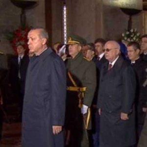 Ankara'da ilk durak Anıtkabir