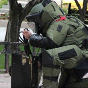 Askeriye önünde bomba paniği !