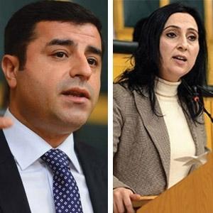 HDP'ye operasyon: Demirtaş ve Yüksekdağ tutuklandı