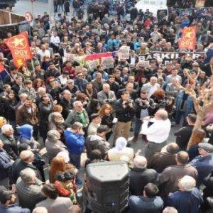 İstanbul'da HDP protestolarına müdahale