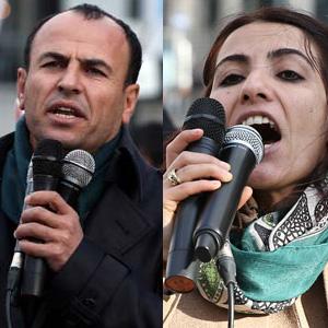 Kaçak HDP'liler Brüksel'de ortaya çıktı
