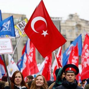 Rusya'da 80 bin kişi yürüdü !