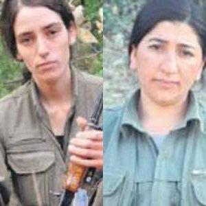 PKK'nın 2 kadın keskin nişancısı öldürüldü