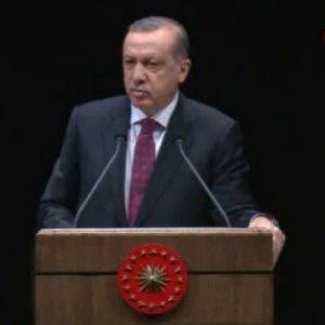 """Erdoğan: """"İki gözümüzü çıkarmaya çalışanlar..."""""""