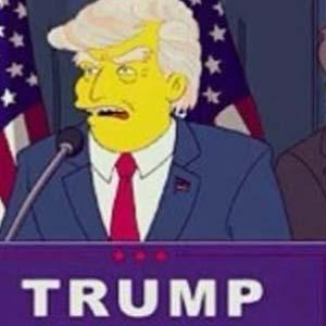 Simpsonlar dizisinde Trump tahmini !
