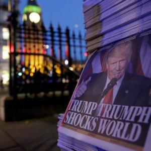 Trump'ın seçim zaferi Avrupa basınında