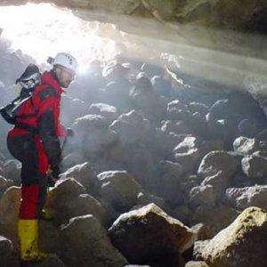 """Türkiye'nin ilk """"lav tüpü mağarası"""""""
