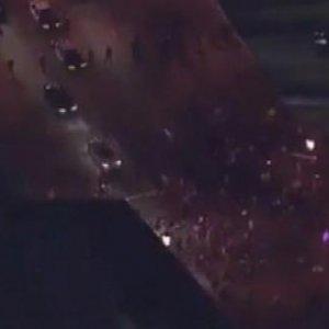 ABD'de gösterilere kan bulaştı