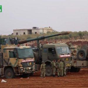 Türk tankları sıcak bölgede