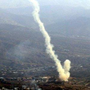 Taciz ateşi açan PKK'lılara bomba yağdı !