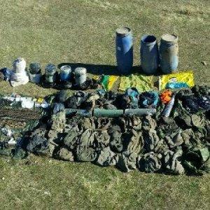 Van'da PKK'nın sığınakları bulundu