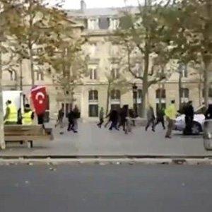 Fransa'da PKK'lılar böyle saldırmış