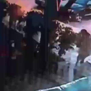 Adana'daki patlama anı güvenlik kamerasında !