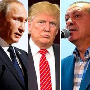 Erdoğan, Putin ve Trump aynı tabloda