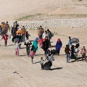 Musul'da büyük göç dalgası