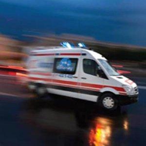 TEM'deki kaza trafiği kilitledi