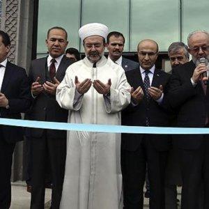 12 canın yandığı Adana'da 6 milyon TL'lik müftülük binası açıldı