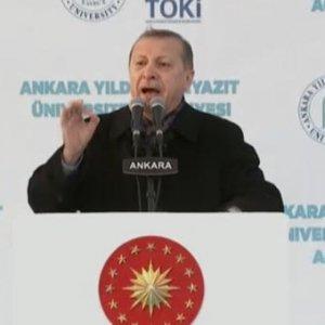 Erdoğan açılış töreninde müjdeyi verdi