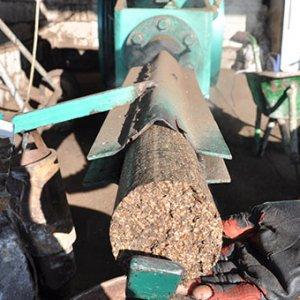 Zeytin'den odun üretiyorlar !
