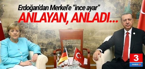 Erdoğan, Merkel'i 2 gün bekletmiş