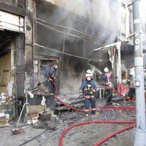 Bağdat Caddesi'nde türkü bar yandı
