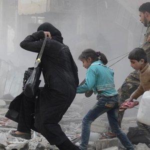 Esat kaçan sivilleri vurdu: Çok sayıda ölü