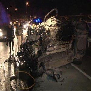 15 Temmuz Şehitler Köprüsü'nde iki ayrı kaza !
