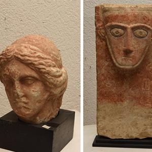 Palmira'daki tarihi eserler İsviçre'de ortaya çıktı