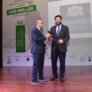 Beşiktaş Belediyesi ödüle doymuyor