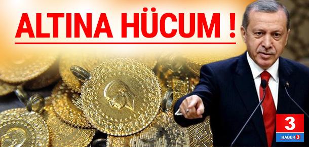 Erdoğan'ın çağrısının ardından altına hücum !