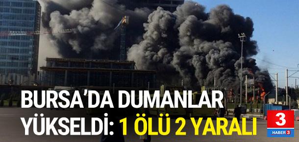 Bursa'da büyük yangın !